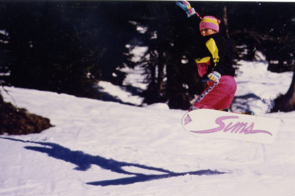 My first Snowboard 1987